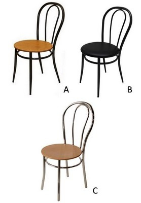 CHAISE 4 PIEDS BISTROT