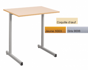 TABLE GANGE 70 x 50 TAILLE 6