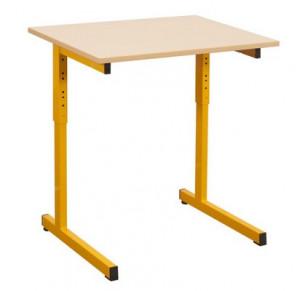 TABLE RÉGLABLE SOUDÉE GODA 70X50 - T3 A 6