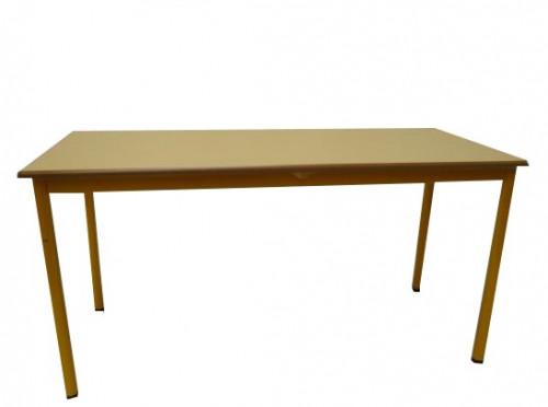 TABLE PETIT LOUP BLEUE TAILLE 2 60X50
