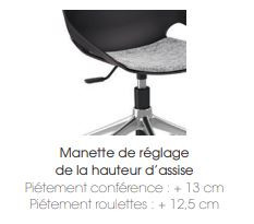 - CHAISE  & TABOURET - GAMME ROSALIE