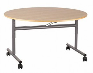 TABLE PLATEAU RABATTABLE D.120