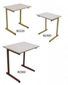 TABLE SCOLAIRE A DÉGAGEMENT LATÉRAL