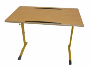 TABLE ERGONOMIQUE - 100X60 RÉGLABLE