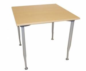TABLE HÊTRE 4 PIEDS 80X80
