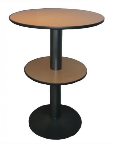 TABLE MANGE DEBOUT 2 PLATEAUX