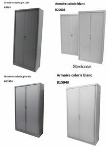 - ARMOIRE RIDEAUX HAUTE COLORIS UNI