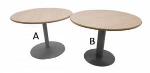 TABLE RONDE DIAMÈTRE 100 - HAUTEUR 72 CM