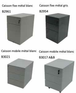 CAISSON 3 TIROIRS - OCCASION