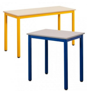 TABLE SCOLAIRE 4 PIEDS CARELIE