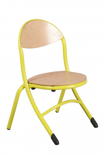 CHAISE APPUI SUR TABLE RONDO