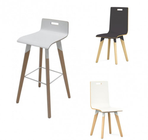 CHAISE & TABOURET - GAMME EVASION