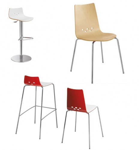 CHAISE & TABOURET- GAMME SPOON