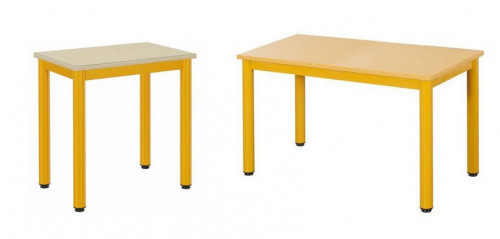 TABLE MATERNELLE LUTINS