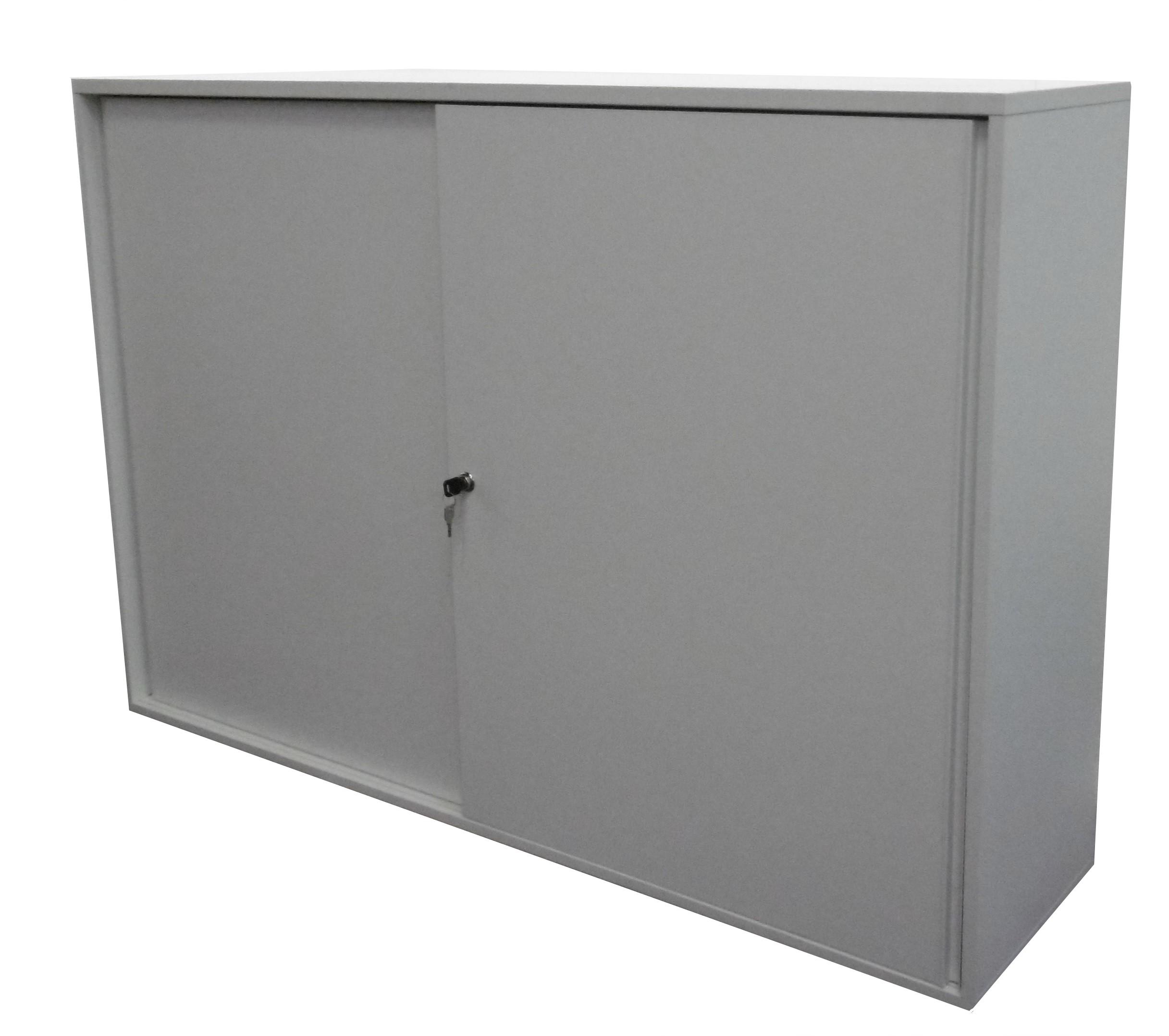 Armoire monobloc rangement bureau portes coulissantes - Rangement porte coulissante ...