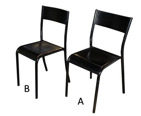 CHAISE 4 PIEDS - H.45
