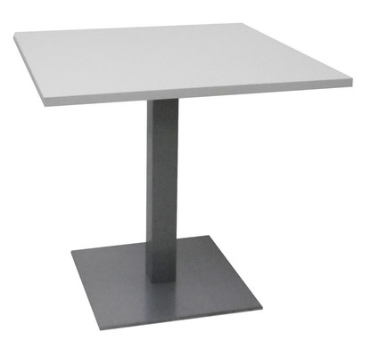 TABLE CARRÉE BLANCHE 80X80