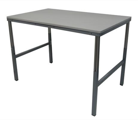 TABLE DE TRAVAIL GRISE 150X90