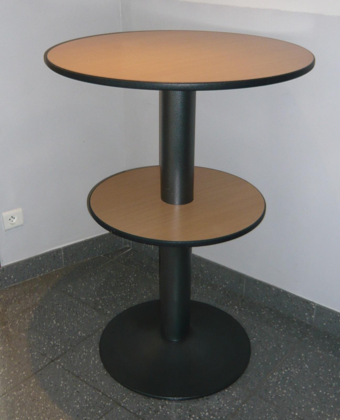 Table mange debout 2 plateaux burocase - Table mange debout but ...
