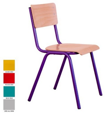 CHAISE 4 PIEDS PAULINE