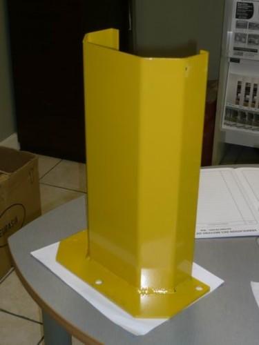 Butée de rack jaune