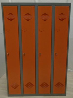 VESTIAIRE INDUSTRIE PROPRE ORANGE