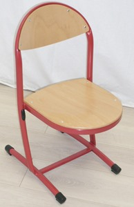 CHAISE AURORE ROUGE TAILLE 4