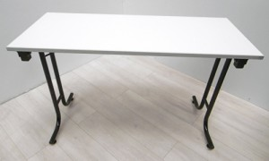 TABLE PLIANTE  GRISE 150X75