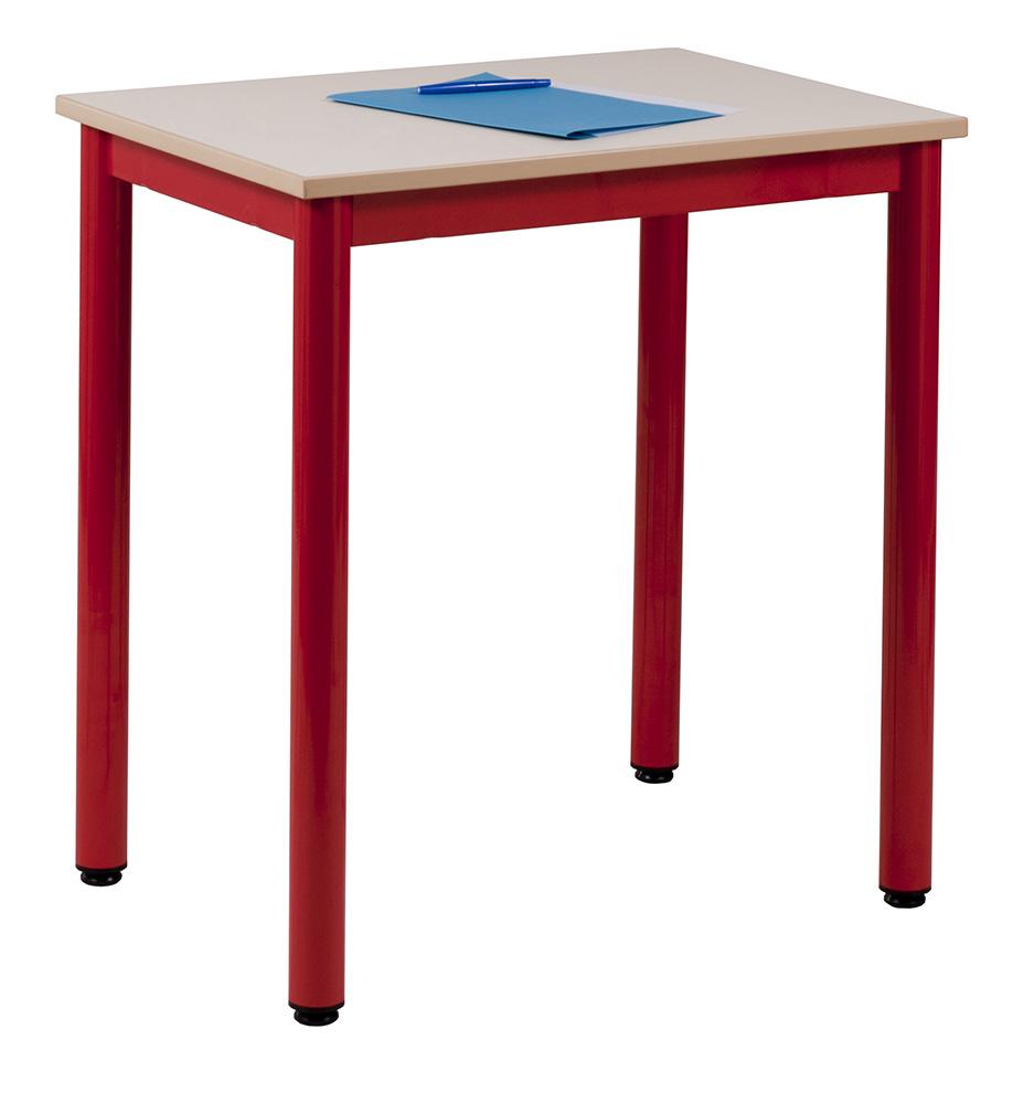 table scolaire carelie burocase. Black Bedroom Furniture Sets. Home Design Ideas